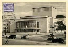 Schiller Theater  MiNr Seltene Ersttag Stempel   Echte Photo - [5] Berlijn