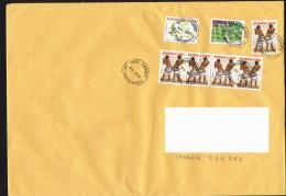 2013  Lettre  De Grand Format Pour Le Canada Danses Traditionnelles, - Burkina Faso (1984-...)