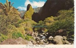 B75719 Iao Valley And Needle Maui  2 Scans - Maui