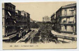 "Alg�rie--ORAN--1930--Le Boulevard S�guin (tramway,magasin ""Au Grand Bon March�"" n� 126 �d LL---Belle carte"