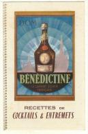 BENEDICTINE - Prospectus Format Cpa Fermé - TTB - Autres Collections