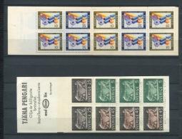 Sweden 1967-8 (2) Booklets Sc 730a,798a MNH - Booklets