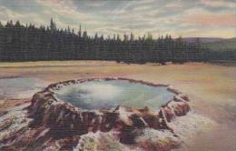 Wyoming Yellowstone Punch Bowl Spring Upper Geyser Basin - Yellowstone