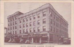 Wyoming Casper Hotel Henning 1953