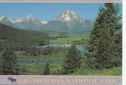 B75916  Grand Teton National Park Wyoming  2 Scans - Etats-Unis