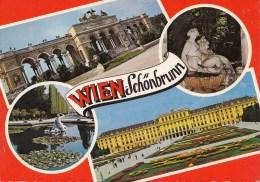 B76026 Wien Schonbrunn    2 Scans - Château De Schönbrunn