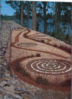 ((154) Australia - Aboriginal Men - Aborigène Art - (Serpent) - Aborigènes