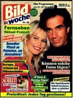 Bild Woche  Zeitschrift  -  19.11.1994  -  Mit :  David Copperfield & Claudia Schiffer - Film & TV