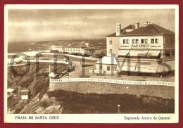 SANTA CRUZ - ESPLANADA ANTERO DE QUENTAL - RESTAURANTE MAR LINDO - 1950 PC - Santarem