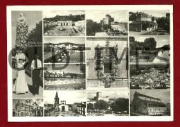 TOMAR - VARIAS VISTAS E MONUMENTOS DA CIDADE - 1950 REAL PHOTO PC - Santarem