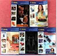 5 X Tchibo Reklame Prospekte Von 2006 / 2007 - Ca. 400 Seiten - Bestellmagazin - Jede Woche Eine Neue Welt - Reklame