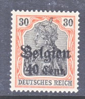 Belgium Occupation Germany 1N 19   * - Occupation 1914-18