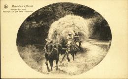 Hermeton S/Meuse - Rentrée Des Foins-Passage D´un Gué Dans L´Hermeton
