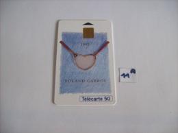 ROLAND GARROS  95 - Telecartes France  50 Unités - Voir Photo (11 A ) - Sport