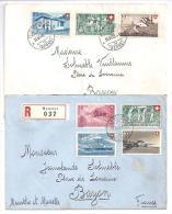 SUISSE - Lot De 2 Lettres De Moutier - Switzerland