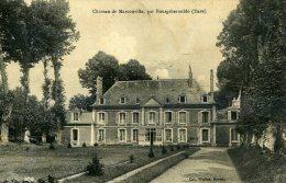 27-CHATEAU DE MARCOUVILLE,PAR BOURGTHEROULDE..... CPA - Other Municipalities
