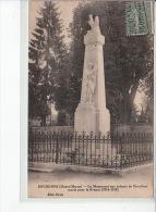 BOURDONS - Le Monument Aux Enfants De Bourdons Morts Pour La France (1914-1918) - Très Bon état - Other Municipalities