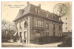 CPA 75 PARIS Hôpital Trousseau Entrée - District 12