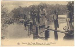 Pk352: Nels Missiën Der Paters Oblaten Op Het Eiland Ceylon-Zoo'n Brug Is Geen Zeldzaamheid In De Streek ( Bridge - Pont - Sri Lanka (Ceylon)