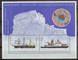 ANTÁRTICA - ALEMANIA 2001 - Yvert #H55 - MNH ** - Esploratori E Celebrità Polari