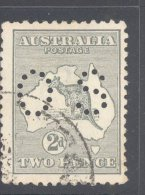AUSTRALIA, 1915-28 2d OFFICIAL (wmk Narrow Crown) VFU, Cat £8,50 - Used Stamps