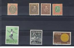 ISLANDE - ISLAND - ICELAND - LOT DE TIMBRES - Autres