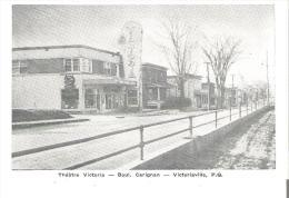 Theatre Victoria  -  Boul. Carignan, Victoriaville, Quebec - Other