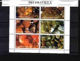 KARK, MINERALES, 6 VAL, CINDERELLAS - Minéraux & Fossiles