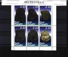 KALM, MINERALES(1), 6 VAL, CINDERELLAS - Minéraux & Fossiles