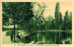 78 LE VESINET Les Pêcheurs Au Grand Lac Des Ibis - Le Vésinet