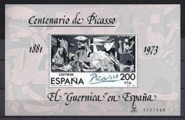 PICASSO - ESPAÑA 1981 - Yvert #H29 (II) - MNH ** Variedad  En La Nº - Picasso