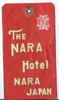 Japon/ The Nara  Hotel/ NARA Japan / Années 1960-1970       JAP9 - Hotel Labels