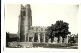 1930s? Sudbury Suffolk All Saints Church RP ppc unused