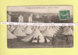 *  CPA..( Dépt 23 )..Camp  De La COURTINE : Une Vue ( 2 ème Brigade )  -  Voir Les 2 Scans - Barracks