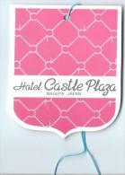 Japon/ Etiquette De Valise Hotel Castle Olazza/Nagoya /Japan / Années 1970-80      JAP11 - Hotel Labels