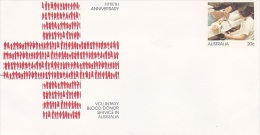 Australia 1979  Blood Donors Unused Cover - 1966-79 Elizabeth II