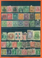 Lot De 43 Timbres Obliteres Allemagne , Angleterre , Suisse Et Divers - - Timbres