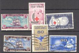SOUTH AFRICA, 1962-64 3 Complete Sets FU - Oblitérés
