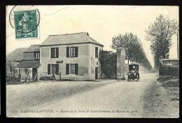 Cpa  Du  78  Maisons Laffitte  Entrée De La Forêt De Saint Germain  , La Maison Du Garde       CML2 - Maisons-Laffitte