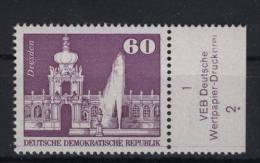 DDR Michel No. 1919 ** postfrisch / DV  Druckvermerk