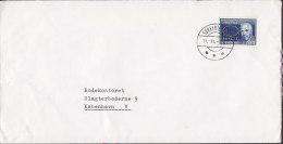 Greenland SUKKERTOPPEN KRÆMNERKONTOR, 1967 Cover Brief To Denmark 90 Ø Niels Bohr Nobelpreis Stamp (Cz. Slania) - Greenland