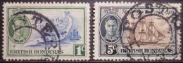 A6676 - British Honduras - 1949 - Sc. 131-134 - Honduras Britannique (...-1970)