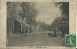 Cpa Rébeval Entrée Du Village Bar,attelage,diligeance ?             RARE - Algiers