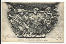 AMIENS , Cathédrale D' Amiens , Miséricorde De Stalle ( Premier Quart Du XVI S. ) - Amiens