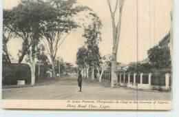 LAGOS  - Force Road View. - Nigeria