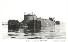 Q244 Sous-marin  Photo Marius Bar 27-11-1972 - Submarinos