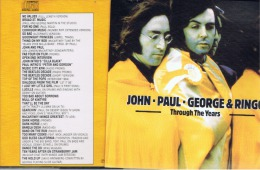 """Cd:collector.""""john.paul George Et Ringo""""trough The Years. - Collectors"""