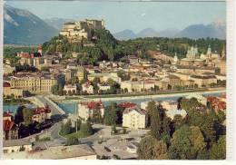 Festspielstadt Salzburg, Blick Vom Kapuzinerberg,   Nice Stamp - Salzburg Stadt