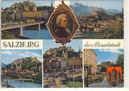 Mozartstadt -  SALZBURG - Mehrfachansicht    1971 - Salzburg Stadt