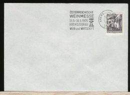 OSTERREICH  -   WEIN MESSE    KREMS DONAU - Vini E Alcolici